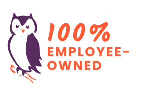 Wise Consulting logo 100% employee owned